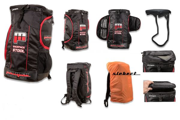 Maximal Sitzrucksack Stuhlrucksack Backpack Stool