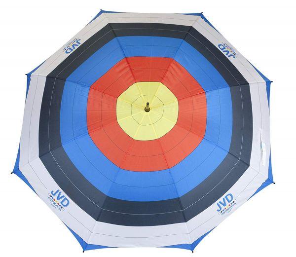 Regenschirm in Zielscheibenoptik FITA oder FELD