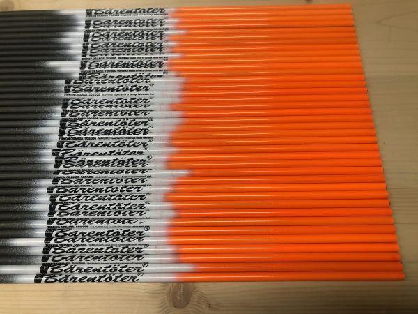 Bärentöter Carbonschaft Zirkon Orange