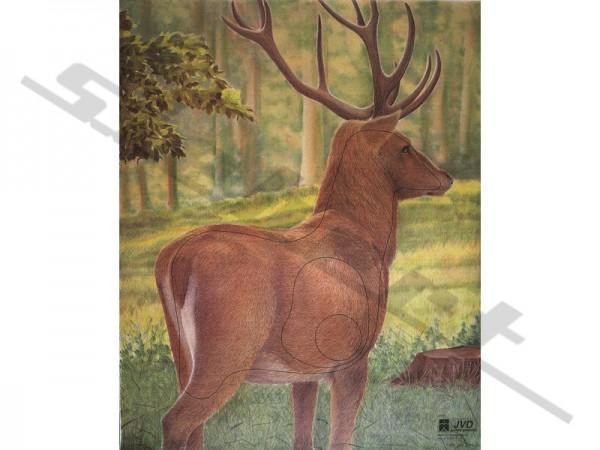 Tierbildauflage Hirsch mit Nylonfäden